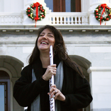 Sue Anne laughing-at-capitol